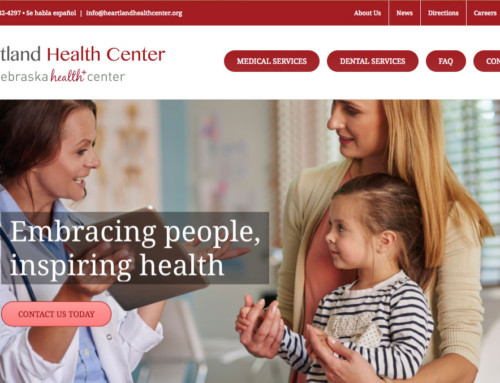 Heartland Health Center – Grand Island, Web Design