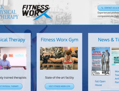 York Physical Therapy – York, Web Design