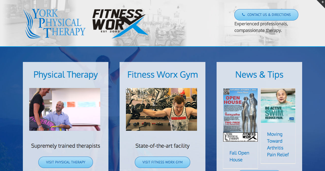 Association new physical therapy york - York Physical Therapy York Web Design