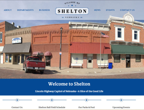 Village of Shelton, Nebraska Website Launch